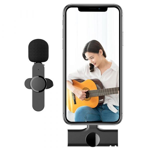 Plug-and-Play Wireless Microphone Portable Clip-on Mic_3