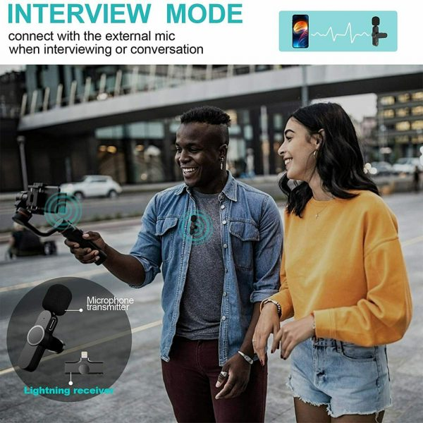 Plug-and-Play Wireless Microphone Portable Clip-on Mic_6