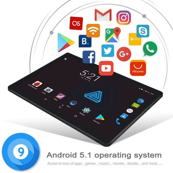 Android OS 8-inch Smart Children's Educational Toy Tablet_8