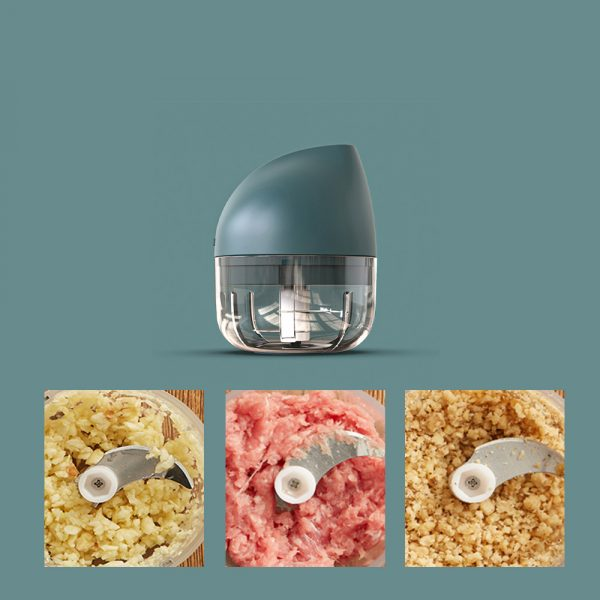 Rechargeable Mini Electric Food Chopper and Meat Grinder_22