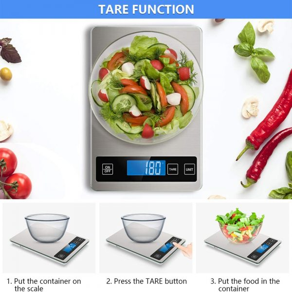 Battery Operated Stainless Steel Digital Kitchen Scale_5