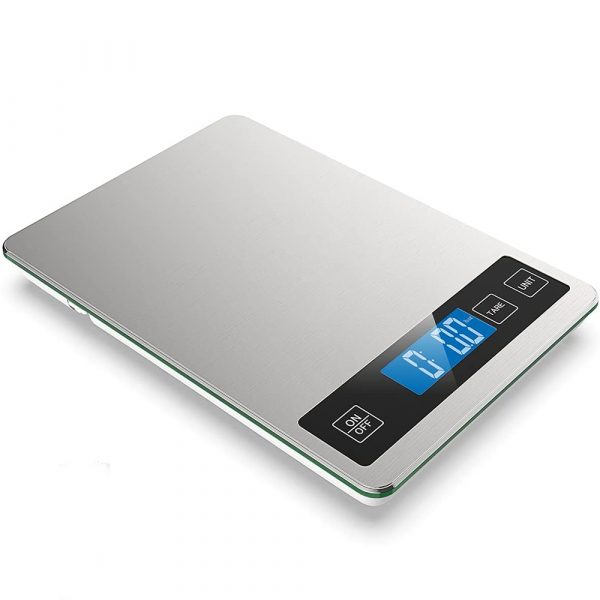 Battery Operated Stainless Steel Digital Kitchen Scale_7