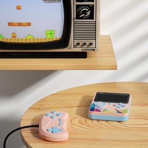 G5 Retro Game Console with 500 Built-in Nostalgic Games