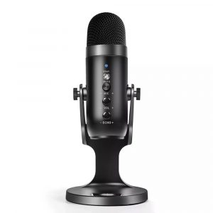 USB Condenser Microphone for PC Streaming and Recording