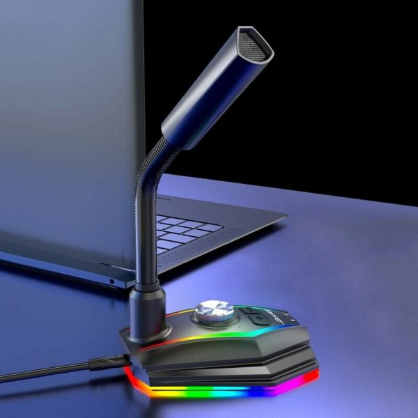 USB Interface RGB Noise Reduction Computer Microphone_5