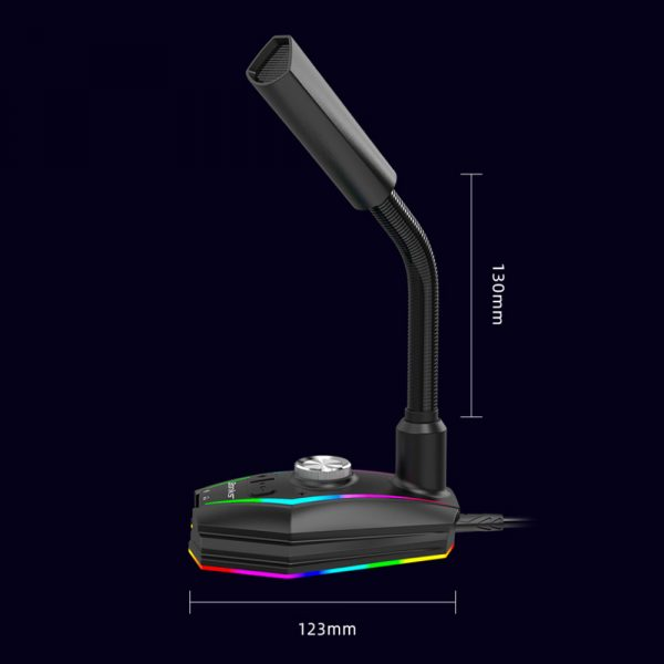 USB Interface RGB Noise Reduction Computer Microphone_14