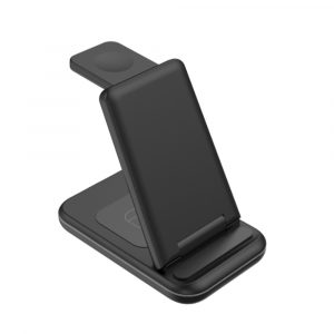 3-in-1 Foldable Wireless Charging Station for QI Enabled Devices