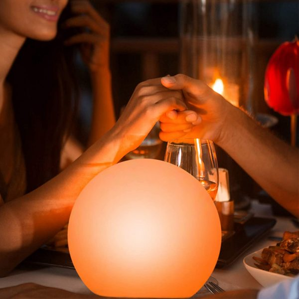Color Changing LED Night Light Ball with Remote and Button Control_2
