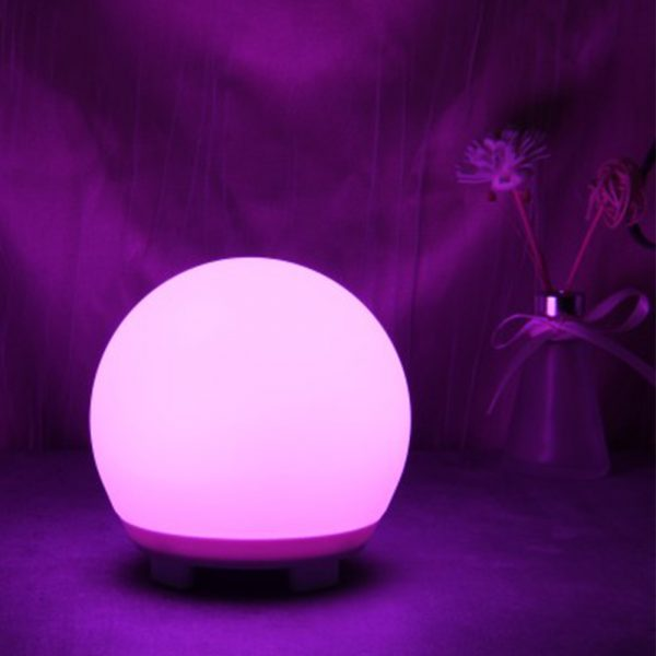 Color Changing LED Night Light Ball with Remote and Button Control_4
