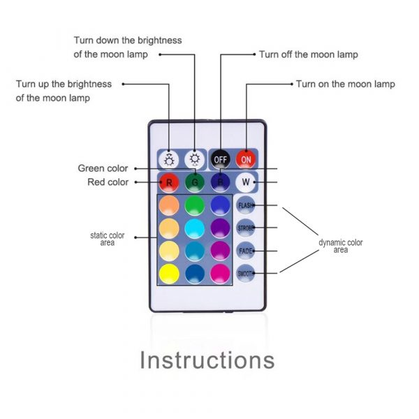 Color Changing LED Night Light Ball with Remote and Button Control_11