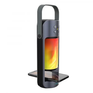 Flame Light Wireless Bluetooth Speaker and Charger for QI Phones
