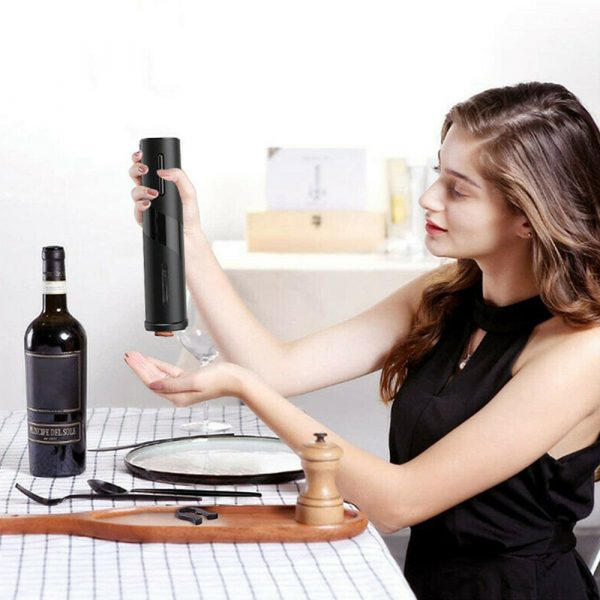 Battery Operated Electric Bottle and Wine Opener Automatic Corkscrew_11