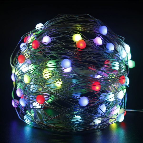 USB Interface Remote and APP Controlled LED Holiday String Lights_5