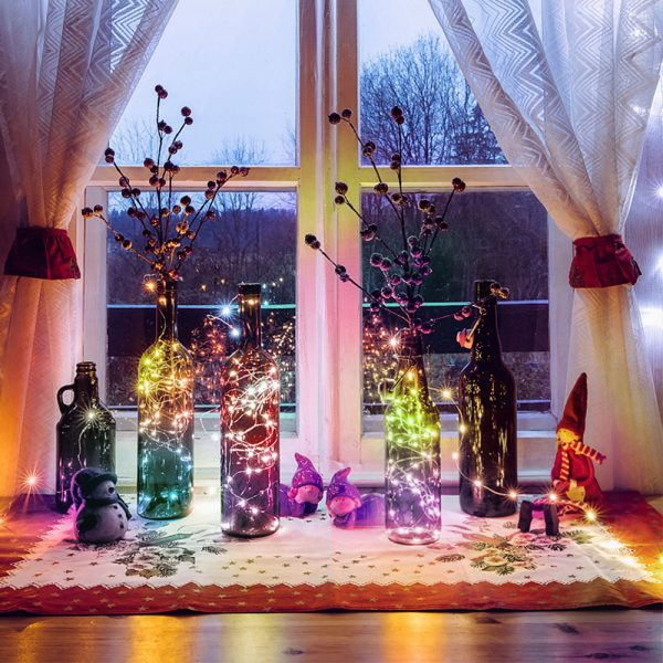 USB Interface Remote and APP Controlled LED Holiday String Lights_7