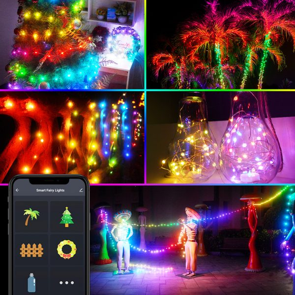 USB Interface Remote and APP Controlled LED Holiday String Lights_19