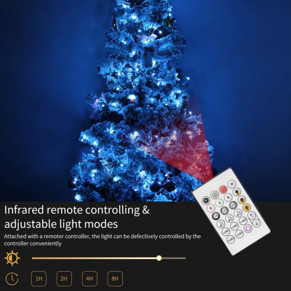 USB Interface Remote and APP Controlled LED Holiday String Lights_10