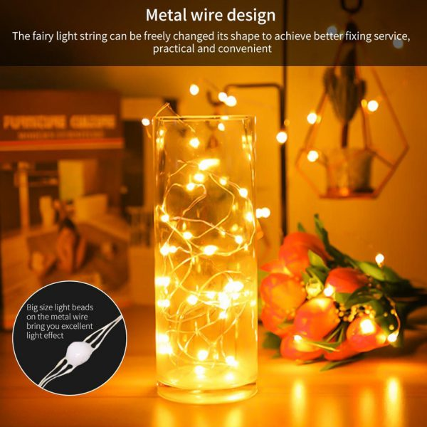 USB Interface Remote and APP Controlled LED Holiday String Lights_16