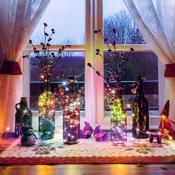 Remote Controlled Smart LED String Holiday Fairy Ball Lights_3