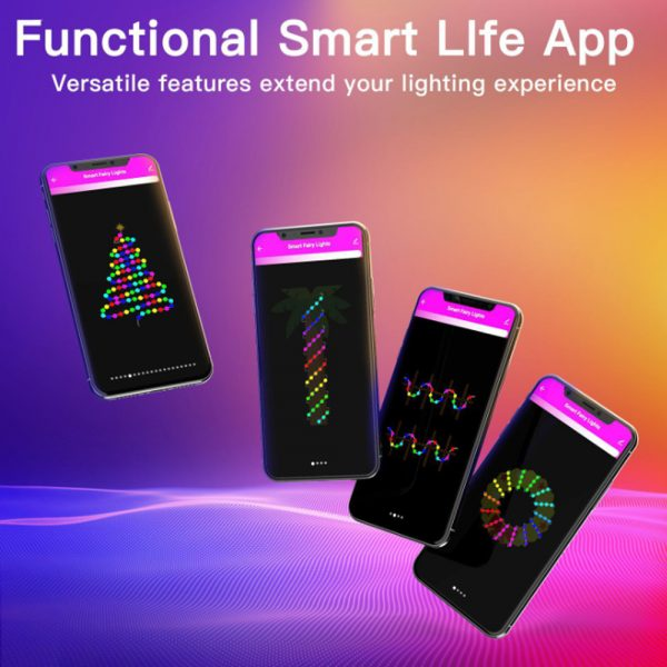 Remote Controlled Smart LED String Holiday Fairy Ball Lights_6