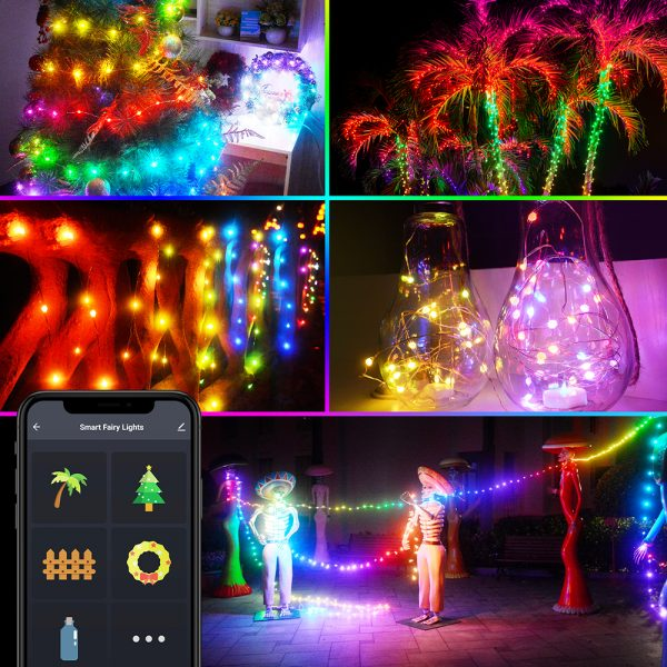 Remote Controlled Smart LED String Holiday Fairy Ball Lights_8