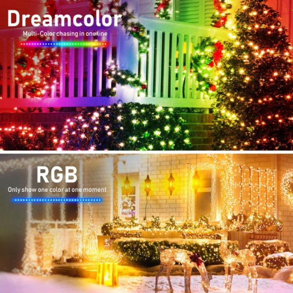Remote Controlled Smart LED String Holiday Fairy Ball Lights_9