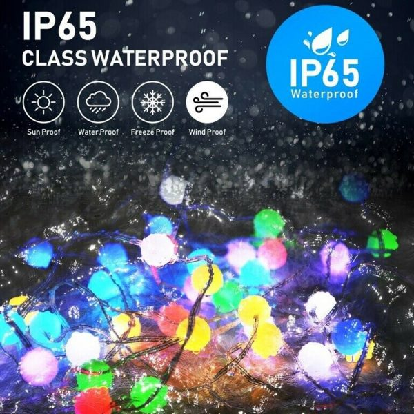 Remote Controlled Smart LED String Holiday Fairy Ball Lights_10