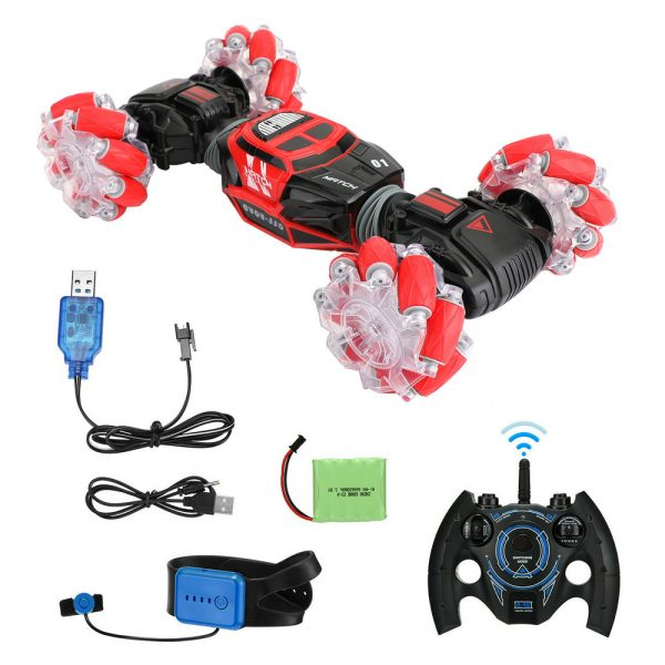 4WD RC Stunt Drift Car with Hand Gesture Remote Control_16