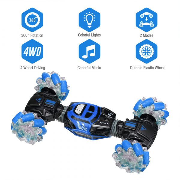 4WD RC Stunt Drift Car with Hand Gesture Remote Control_10