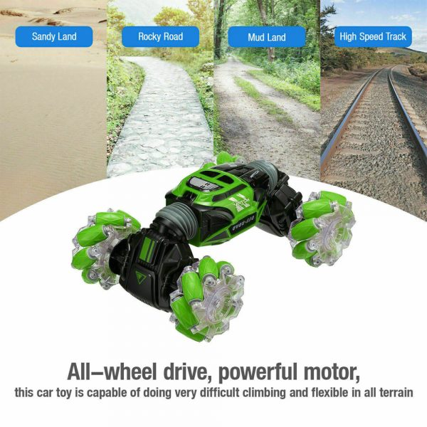 4WD RC Stunt Drift Car with Hand Gesture Remote Control_13