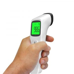 Battery Operated Non-Contact Human Body Heat Thermometer