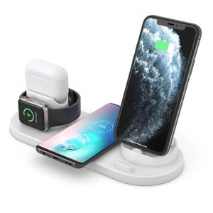 6-in-1 Multifunctional Wireless Charging Station for Qi Devices