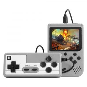 Handheld Pocket Retro Gaming Console with Built-in Games